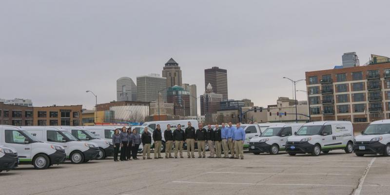 miller pest & termite team photo of our midwest rodent exterminators